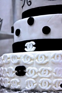 Chanel Wedding Cake Ottawa
