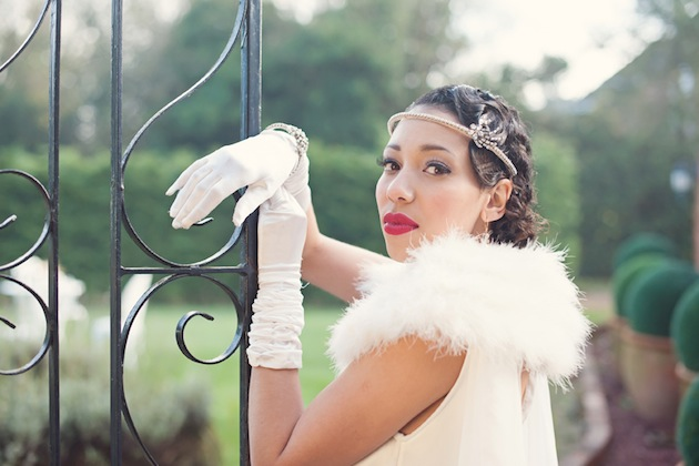 The Great Gatsby wedding shoot