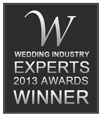 Winner of Wedding Industry Experts 2013 Awards, Best new wedding Planner In Ottawa