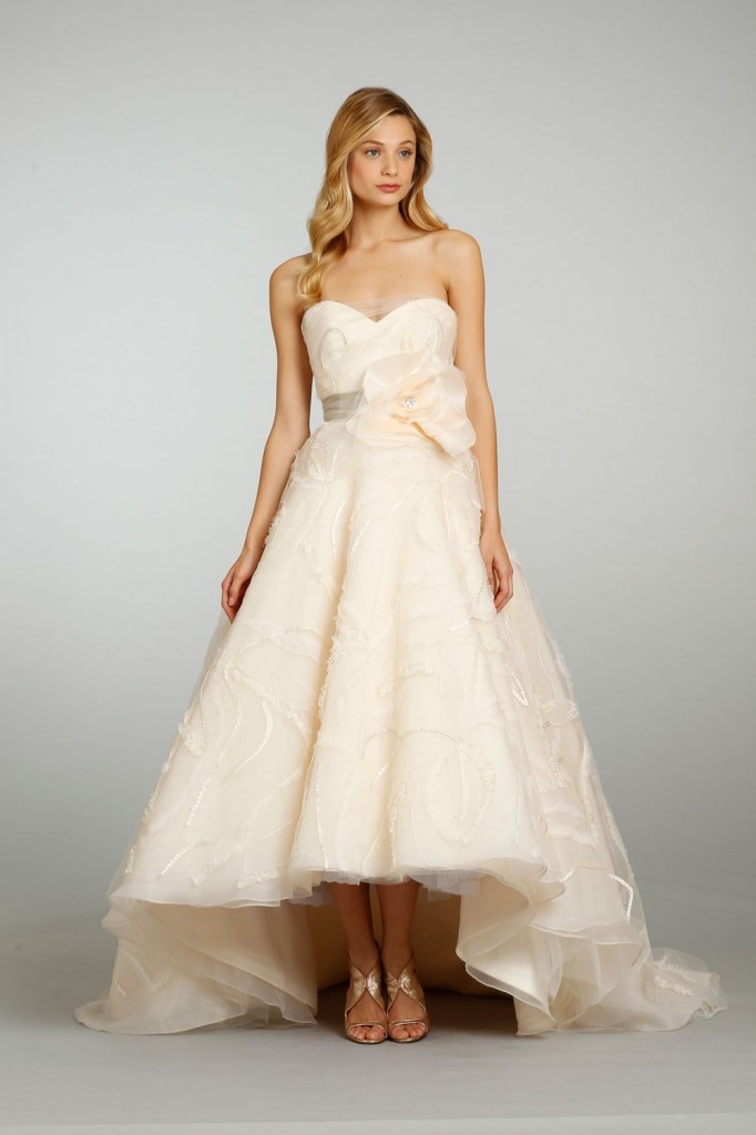 Blush wedding gowns