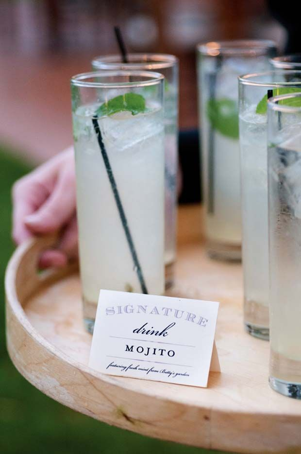Drinking etiquette at weddings be responsible ottawa wedding ottawa wedding offer signature drinks junglespirit Gallery
