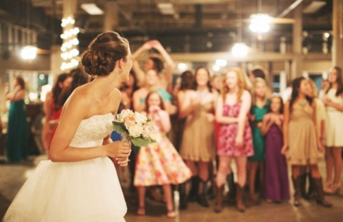 Bridal Bouquet Toss Meaning Classic Wedding Traditions Ottawa Events