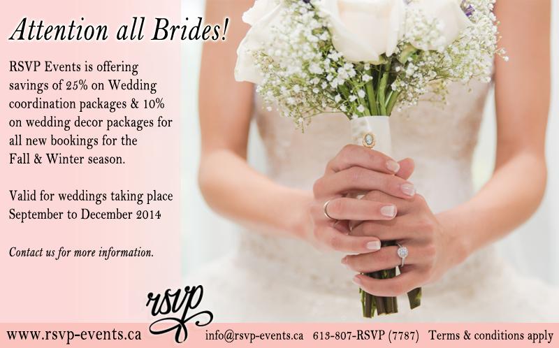 Wedding Planning Ottawa