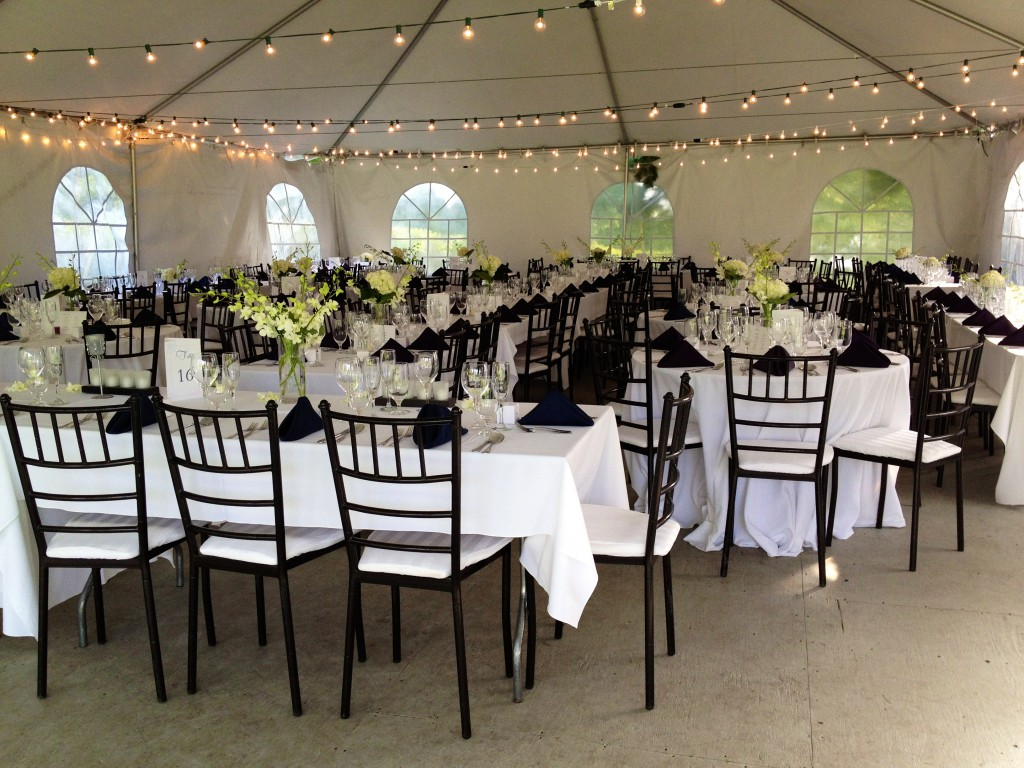 Ottawa Tented venue wedding