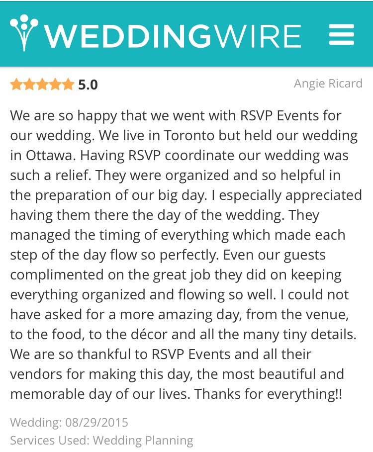 RSVP Events Reviews 8