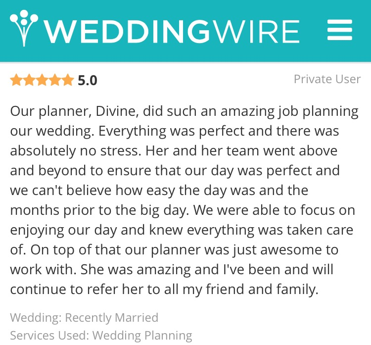Ottawa wedding planner review