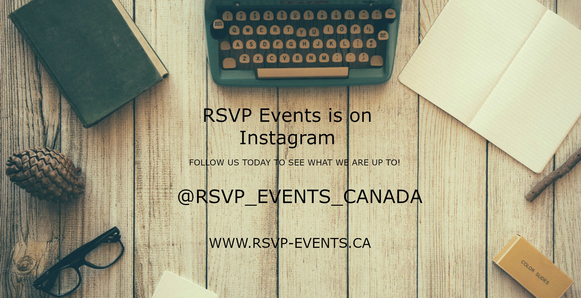 RSVP Events Ottawa Instagram