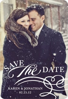 Paper divas-save the date