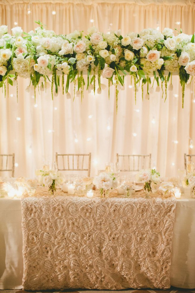 elaborate wedding decor