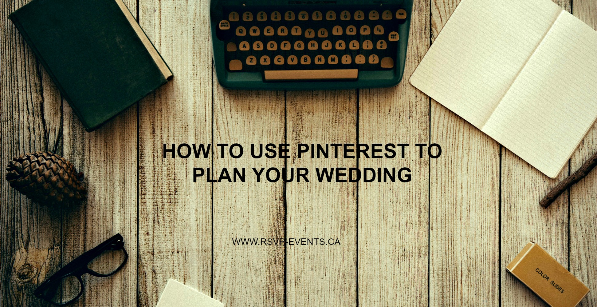 How to use Pinterest to plan a wedding